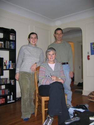 Mom, Dad and Carolyn